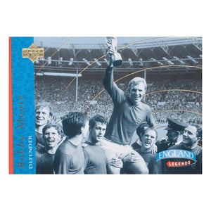 1962-73 Bobby Moore England Upper Deck Trading Card
