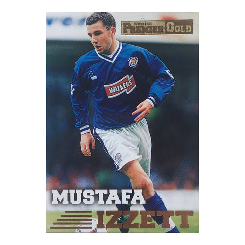 1997 Muzzy Izzett Leicester City Premier Gold Trading Card
