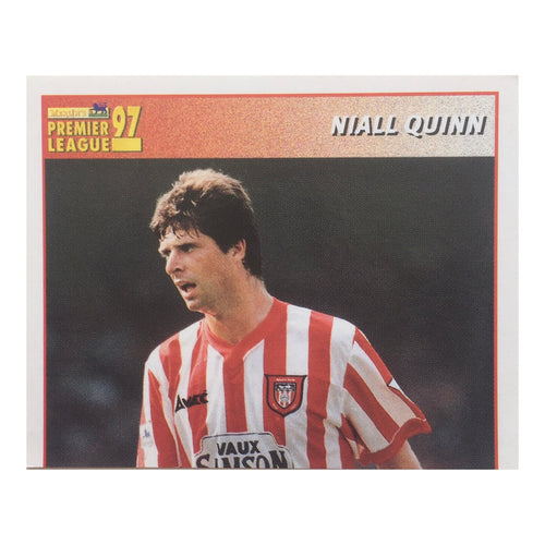 1996/97 Niall Quinn Sunderland Merlin Football Sticker