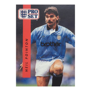 1990/91 Neil Pointon Manchester City Pro Set Trading Card