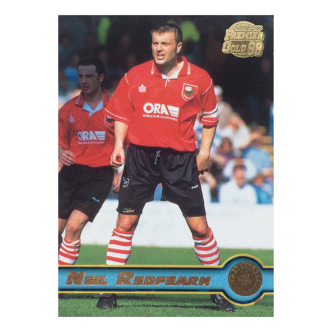 1998 Neil Redfearn Barnsley Premier Gold Trading Card