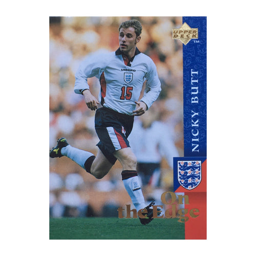 1998 Nicky Butt England Upper Deck Trading Card