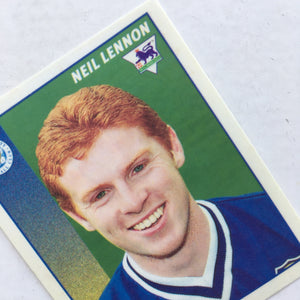 1996/97 Neil Lennon Leicester City Merlin Football Sticker