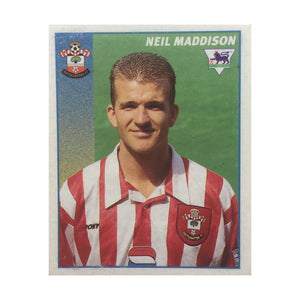 1996/97 Neil Maddison Southampton Merlin Football Sticker