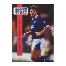 1990/91 Norman Whiteside Everton Pro Set Trading Card