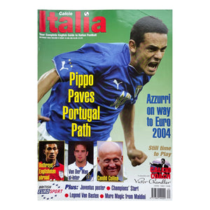 2003 Calcio Italia Football Magazine - October