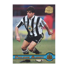 1998 Philippe Albert Newcastle United Premier Gold Trading Card