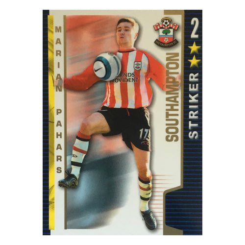 2004/05 Marian Pahars Southampton Shoot Out Trading Card