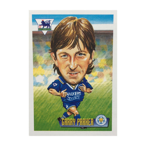1996 Garry Parker Leicester City Merlin Trading Card