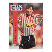 1990/91 Paul Beesley Sheffield United Pro Set Trading Card