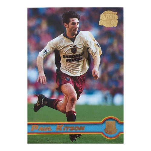 1998 Paul Kitson West Ham United Premier Gold Trading Card