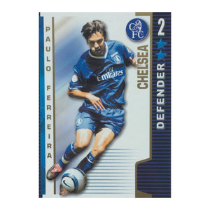 2004/05 Paulo Ferreira Chelsea Shoot-Out Trading Card