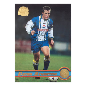 1998 Peter Atherton Sheffield Wednesday Premier Gold Trading Card