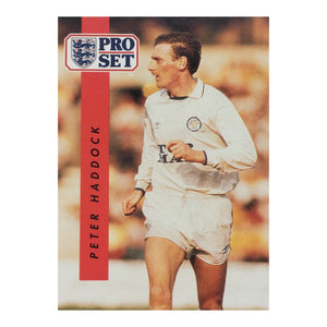 1990/91 Peter Haddock Leeds United Pro Set Trading Card