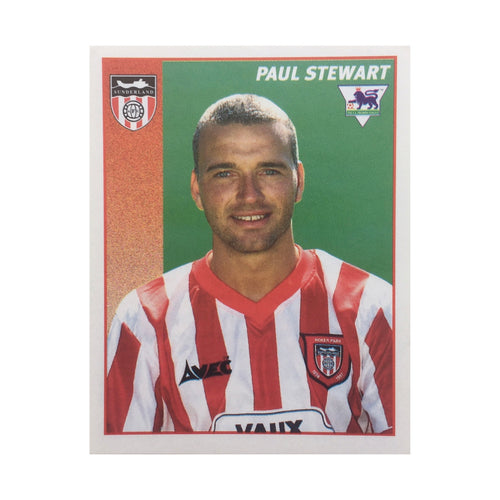 1996/97 Paul Stewart Sunderland Merlin Football Sticker