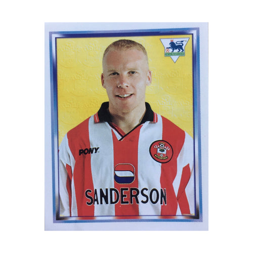 1997/98 Robbie Slater Southampton Merlin Football Sticker