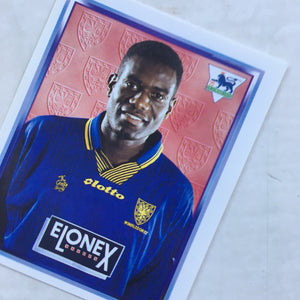 1997/98 Robbie Earle Wimbledon Merlin Football Sticker