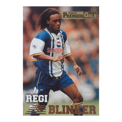 1997 Regi Blinker Sheffield Wednesday Premier Gold Trading Card