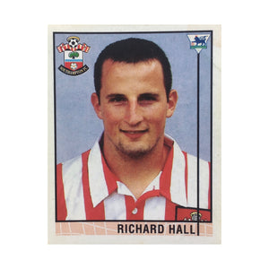 1995/96 Richard Hall Southampton Merlin Football Sticker