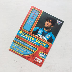 1998 Richard Shaw Coventry City Premier Gold Trading Card
