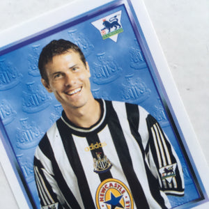 1997/98 Rob Lee Newcastle United Merlin Football Sticker