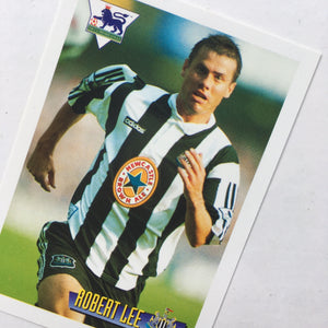 1996 Rob Lee Newcastle United Merlin Trading Card