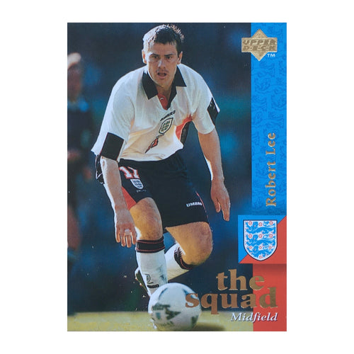 1998 Rob Lee England Upper Deck Trading Card