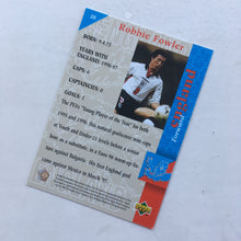 1998 Robbie Fowler England Upper Deck Trading Card