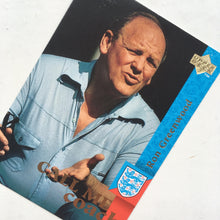1977-82 Ron Greenwood England Manager Upper Deck Trading Card
