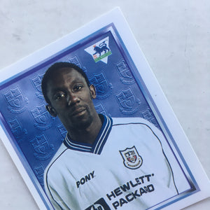1997/98 Ruel Fox Tottenham Merlin Football Sticker