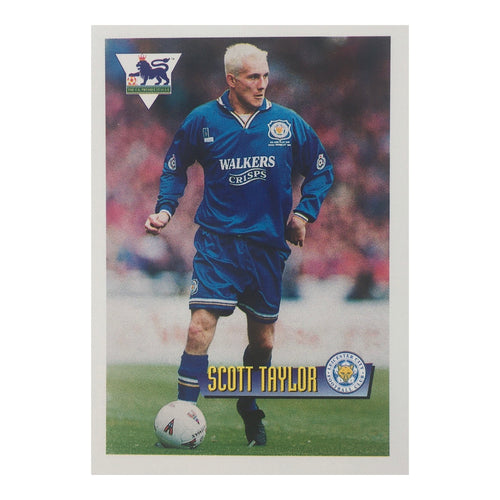 1996 Scott Taylor Leicester City Merlin Trading Card