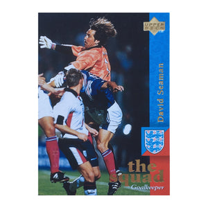 1998 David Seaman England Upper Deck Trading Card