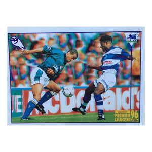 1995/96 Sheffield Wednesday Merlin Football Sticker