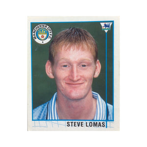 1995/96 Steve Lomas Manchester City Merlin Football Sticker