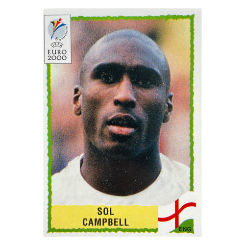 2004/05 Sol Campbell Arsenal Shoot-Out Trading Card