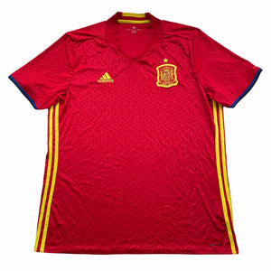 2016/17 Spain Home Shirt - XL