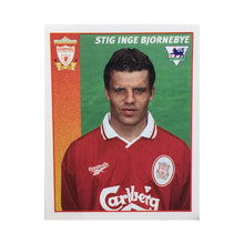 1996/97 Stig Inge Bjornebye Liverpool Merlin Football Sticker