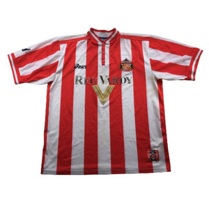 1999/00 Sunderland Home Shirt - L