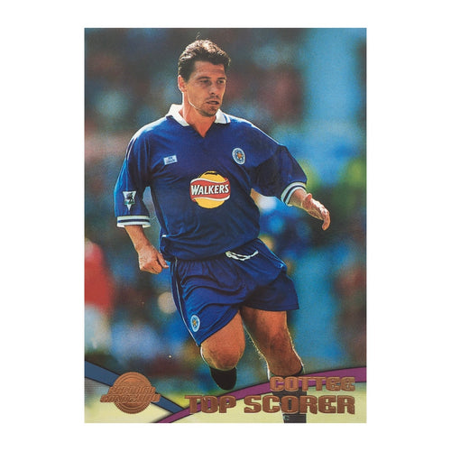2000 Tony Cottee Leicester City Premier Gold Trading Card