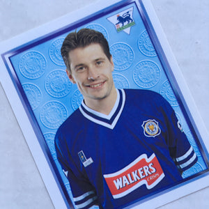 1997/98 Tony Cottee Leicester City Merlin Football Sticker