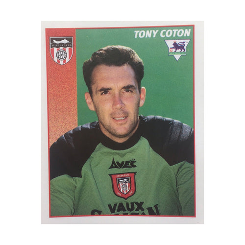 1996/97 Tony Coton Sunderland Merlin Football Sticker