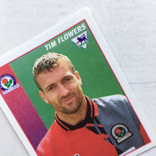 1996/97 Tim Flowers Blackburn Rovers Merlin Football Sticker