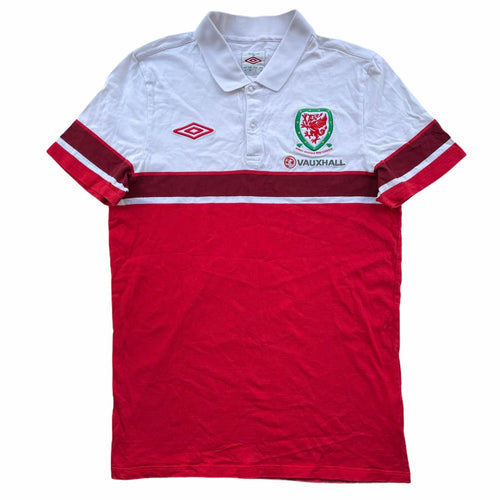 2011/12 Wales Training Polo Shirt - M