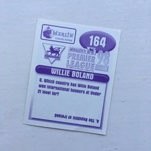 1997/98 Willie Boland Coventry City Merlin Football Sticker