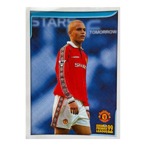 1998/99 Wes Brown Manchester United Merlin Football Sticker