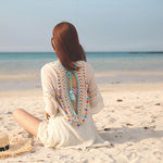 Boho Crochet Beach Cover up