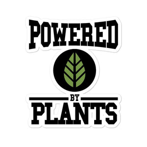 POWERED BY PLANTS - Sticker - Always Hungry Fashion