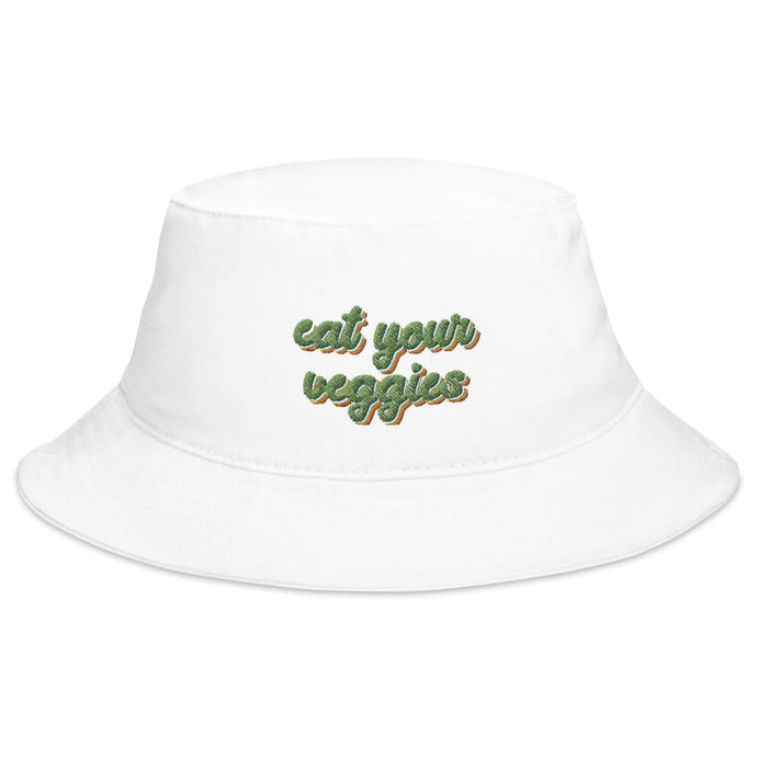 EAT YOUR VEGGIES - Bucket Hat - Always Hungry Fashion