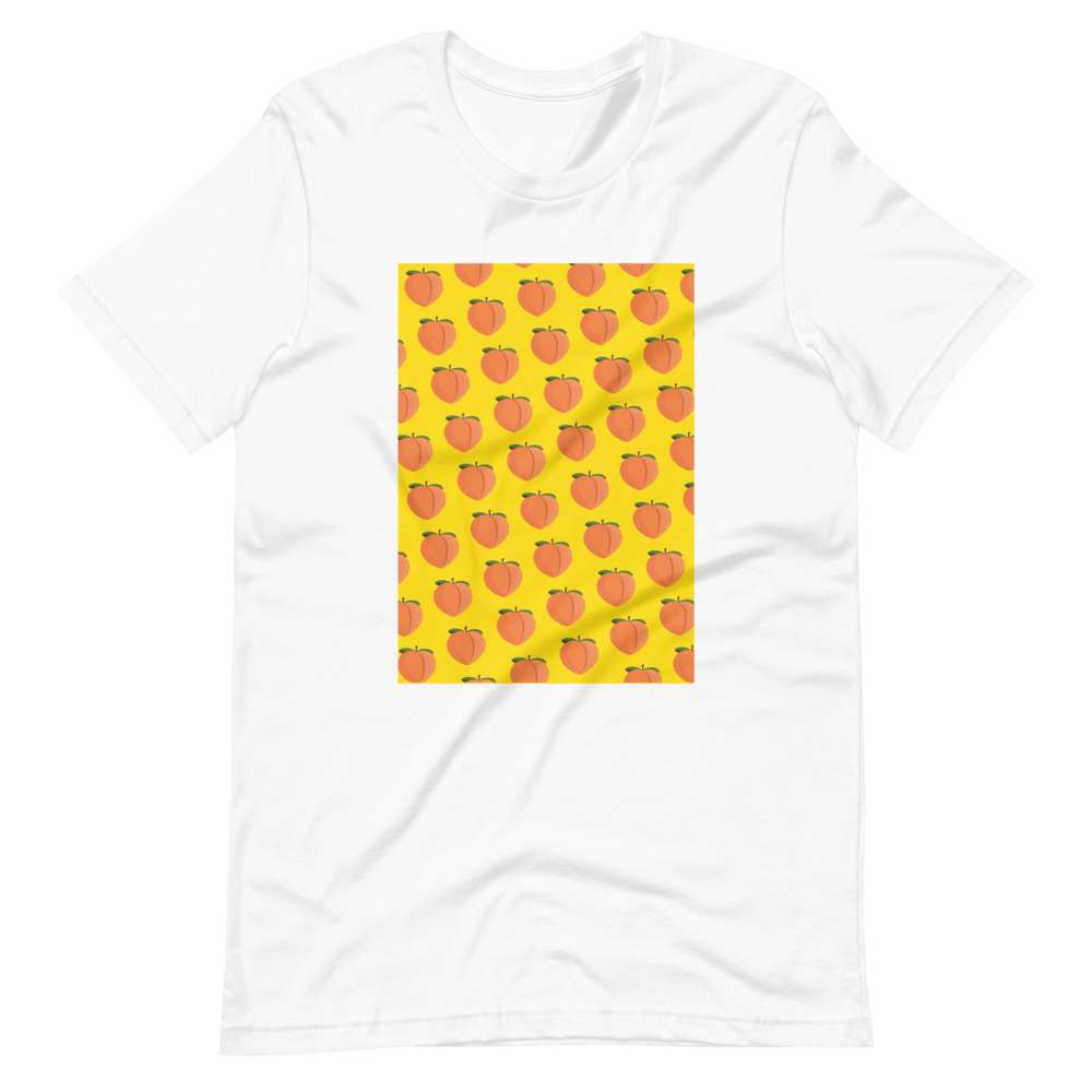 PEACH - Unisex T-Shirt - Always Hungry Fashion