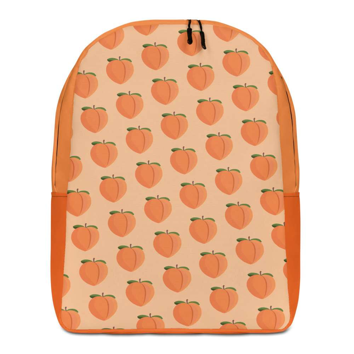 PEACH - Patterned Minimalist Backpack - Always Hungry Fashion